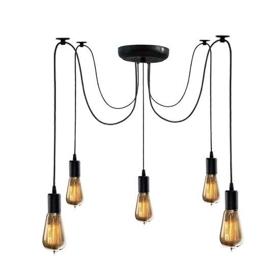 Люстра павук на п'ять ламп NL 149-5 MSK Electric