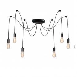 Люстра павук на шість ламп NL 149-6 MSK Electric