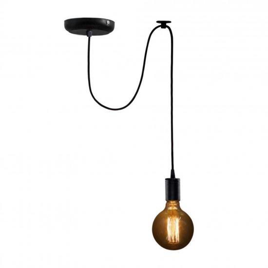 Люстра павук на одну лампу NL 149-1 MSK Electric