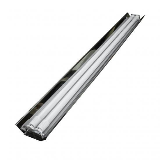Світильник відкритий під дві led лампи 120см СПВ 02-1200 дзеркало MSK Electric
