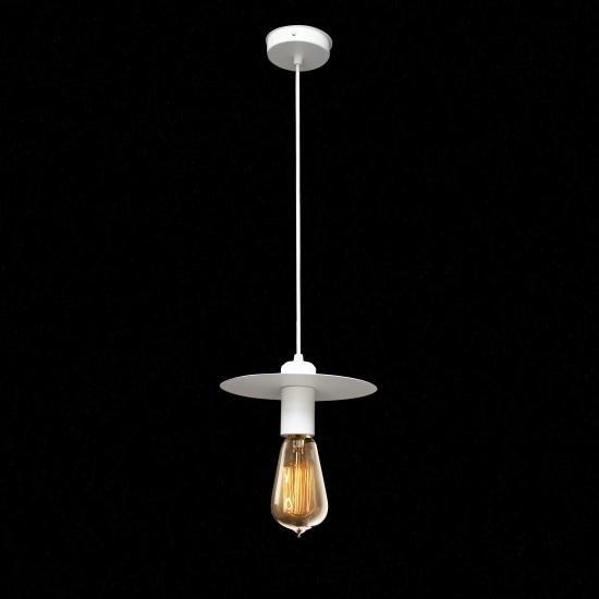 Світильник підвісний в стилі лофт MSK Electric Disk NL 2009 WH