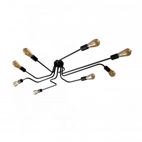 Люстра паук MSK Electric Maze лофт NL 13060/8