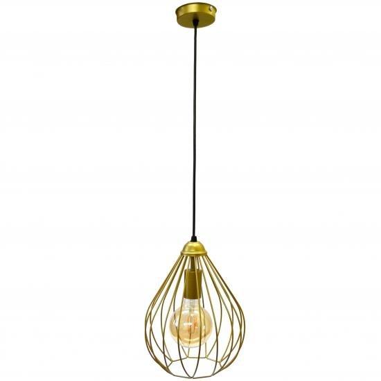 Светильник подвесной в стиле лофт MSK Electric Kaplya NL 2229 G