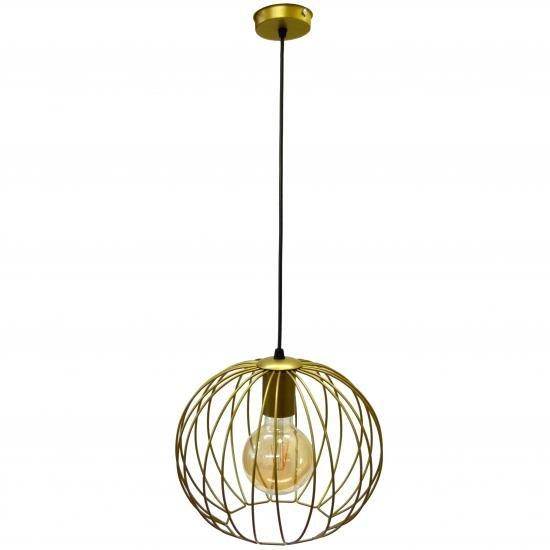 Светильник подвесной в стиле лофт MSK Electric Globe NL 2722 G
