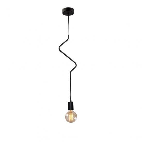 """Світильник підвісний на одну лампу MSK Electric NL 1442 """"ZIGZAG"""""""