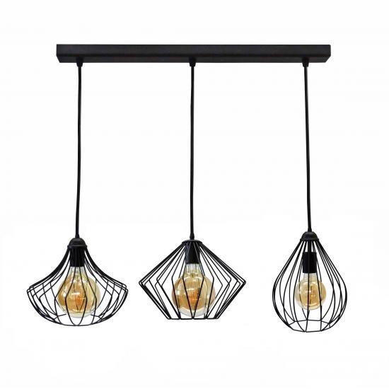 Світильник підвісний на три лампи NL 283022 MSK Electric