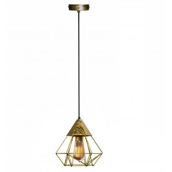 Світильник підвісний MSK Electric Crystal в стилі лофт NL 0535 BN бронза