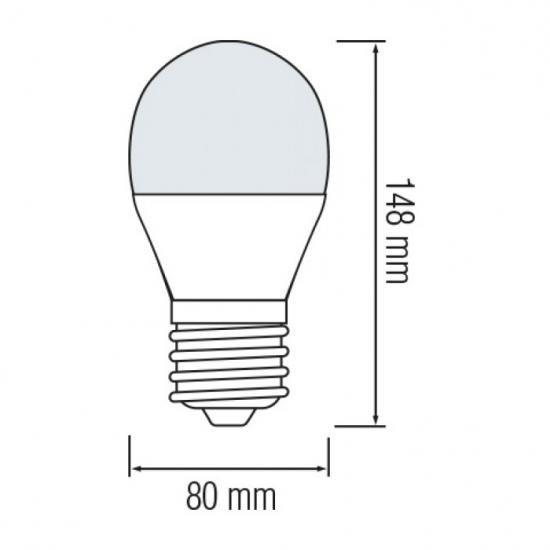 LED лампа A - 70 E - 27 18w Horoz 6400К Premier - 18