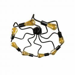 Люстра лофт на вісім ламп павук NL5526-8 MSK Electric
