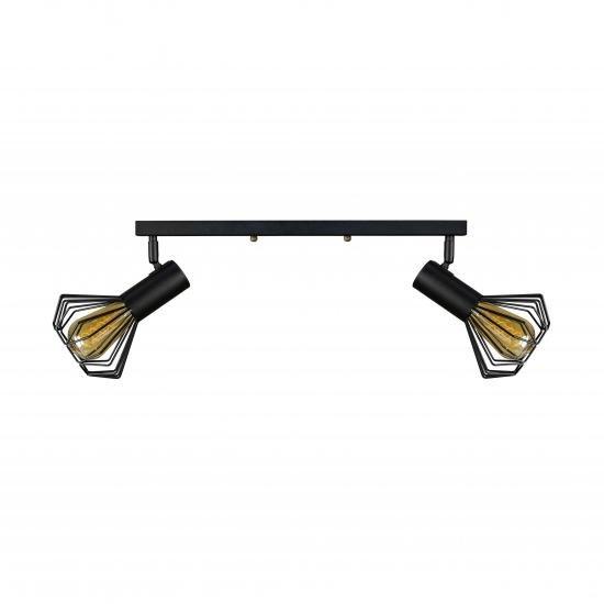 Світильник лофт MSK Electric Diadem настінно-стельовий NL 22151-2