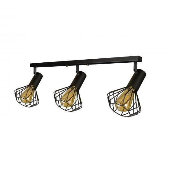 Світильник лофт MSK Electric Diadem настінно-стельовий NL 22151-3