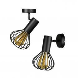 Світильник лофт настінно-стельовий MSK Electric NL 14151-1