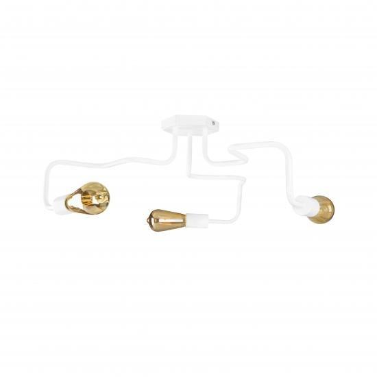 Люстра лофт MSK Electric Laminari на три лампи павук NL 5526-3 W