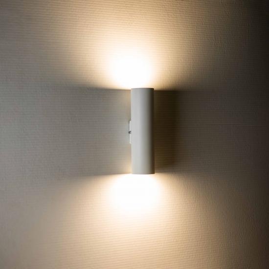 Светильник настенный MSK Electric Tube бра под две лампы Е27 NL 2206 W