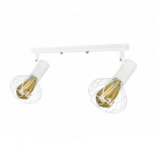 Світильник лофт настінно-стельовий MSK Electric Lotus NL 14151-2 WH