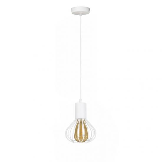 Світильник лофт підвісний MSK Electric Lotus NL 1415 WH
