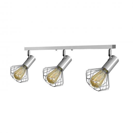 Світильник лофт MSK Electric Diadem настінно-стельовий NL 22151-3 CR хром