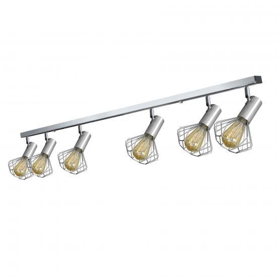 Світильник лофт MSK Electric Diadem стельовий NL 22151-6 CR