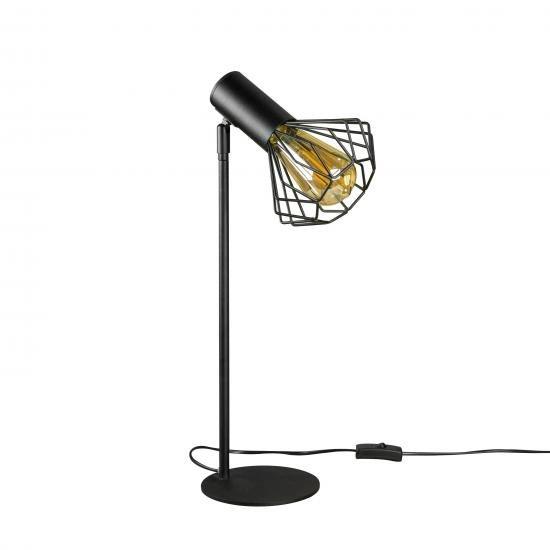 Настольная лампа лофт MSK Electric Diadem NL 22153 BK+BN