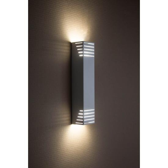 Светильник настенный MSK Electric бра под две лампы NL 23701-1 WH белый