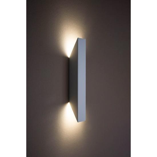 Світильник настінний MSK Electric Vega бра під дві лампи NL 24101-1 WH білий