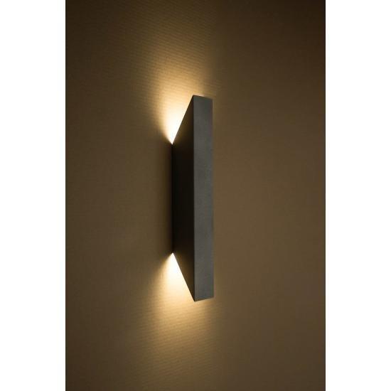 Светильник настенный MSK Electric Vega бра под две лампы NL 24101-1 BN муар золото