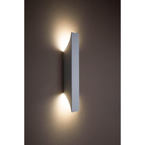 Світильник настінний MSK Electric Vega бра під дві лампи NL 24201-1 WH білий