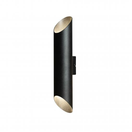 Бра MSK Electric Slice под две лампы Е27 NL 3260 BK+BK
