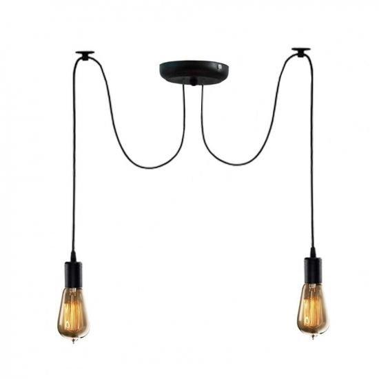 Люстра паук на две лампы MSK Electric Spider NL 149-2