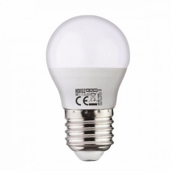 "LED лампа ""кулька"" G - 45 10w 3000k E - 27 Horoz Elite - 10"