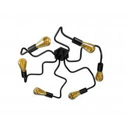 Люстра лофт на шість ламп павук NL5526-6 MSK Electric