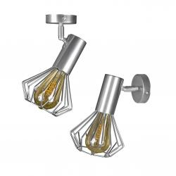Світильник лофт MSK Electric Diadem настінно-стельовий NL 22151-1 CR хром