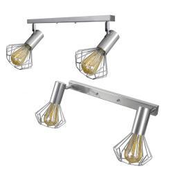 Світильник лофт MSK Electric Diadem настінно-стельовий NL 22151-2 CR хром