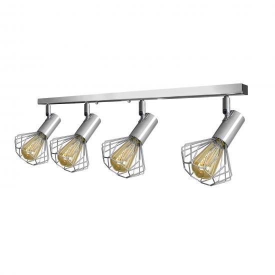 Світильник лофт MSK Electric Diadem настінно-стельовий NL 22151-4 CR хром
